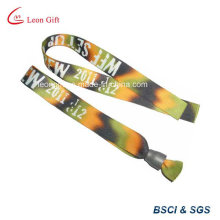 Disposable Sublimation Polyester Fabric Custom Cloth Bracelet