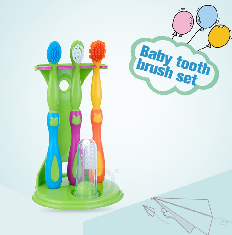 silicone bristle toothbrush