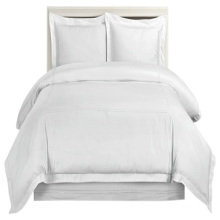 Hotel Wholesale Duvet Cover Solid White Queen Size Luxury Quilt Cover