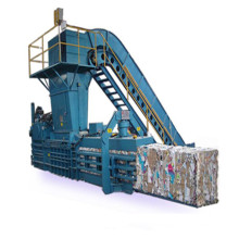 Automatic Press Baler Machine hydraulic waste paper wrapping machine for sale
