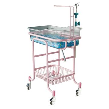 Hospital Steel Transparant Baby Crib