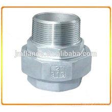 ASTM 304 Aço Inoxidável Reto NPT União M / F (CU MF)