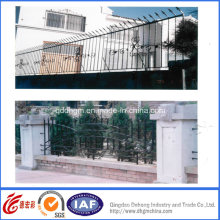 Decorative Residential Security Wrought Iron Fence (dhwallfence-13)