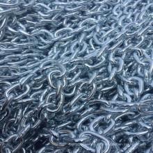 Cadena de enlace soldada de acero al carbono de alta calidad