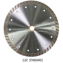 Lâmina de serra de diamante Lightning Series Turbo (turbo contínuo)