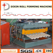 Galvanized Step Tile Sheet Roll Forming Machine
