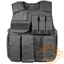 Military Bullet proof vest with pouches