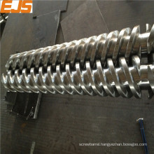 Best quality conical twin screw for extruder for plastic pipe frp square plastic pipe