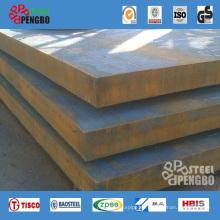 Placa de metal de acero de aleación Q345r / 20mn / 15CrMo / 35CrMo