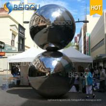 Decorativo inflable Mini Espejo Plata Oro Rojo Disco Bolas 2m Inflables Mirror Ball