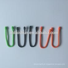 Flexível 4 milímetros de diâmetro Food Silicone Gear Tie