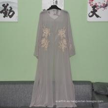Abaya simple 2016 del dubai de los últimos diseños modernos al por mayor de la manera para la mujer