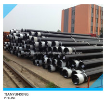 Seamless API 5L Pipeline Steel Pipes with Black Painting