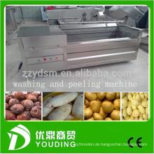 große Kapazität Wurzelgemüse- und Fruchtwasch- und -schälmaschine für Verkauf