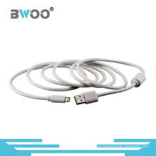 Fábrica al por mayor del cable de datos USB de alta calidad modificada para requisitos particulares