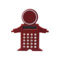 Mini Clip Kids Shape Pocket Calculator con imán