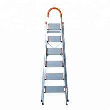 Escada dobrável de 3 degraus de alumínio para uso doméstico