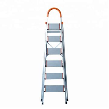 Escalera plegable de aluminio de 3 escalones