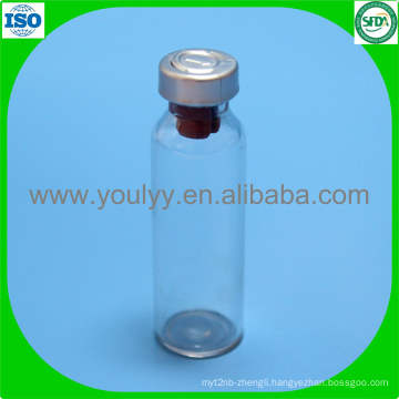 Tubular Glass Vial with Aluminium Cap