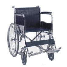 Chaise roulante en acier