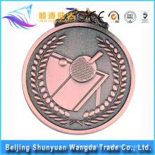 Medalha de esportes de metal novo medalha de prêmio Medalha de corrida de metal