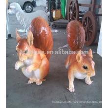 samll animals fiberglass sculpture