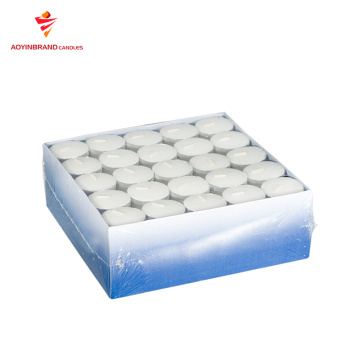 Lilin parafin mini tealight 100 bungkus