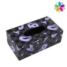 European Style Leather Tissue Box (ZJH074)