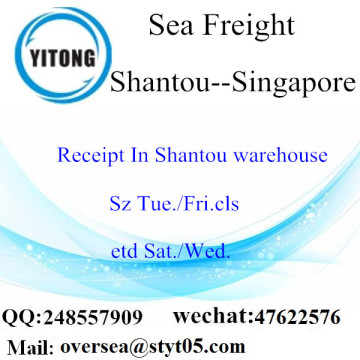 Shantou Port LCL Consolidation To Singapore