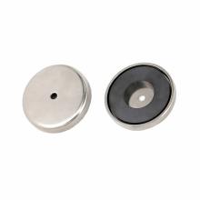 Base magnética cerâmica do potenciômetro redondo do ímã