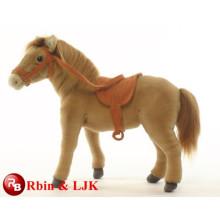 ICTI geprüfte Fabrik-Qualitäts-kundenspezifisches Plüschspielzeugpferd gefülltes Tierspielzeug