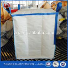 Contenedor de embalaje estupendo del bolso a granel de elevación del fibc de elevación del polipropileno del precio bajo, Handan Zhongrun