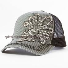 Moda Applique Rhinestone de costura gruesa Ocio Sombrero de camionero (TM666502015099A)