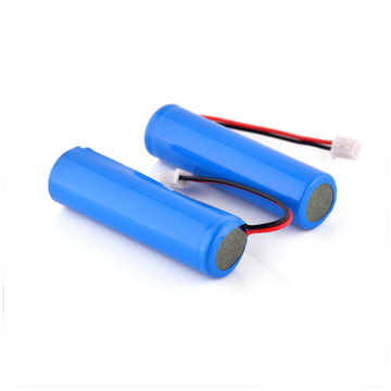 Cellule de batterie Li-ion rechargeable 18650 3,7 V 2400 mAh