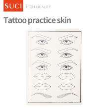 Поддельные Тренировки Татуировки Практике Кожи