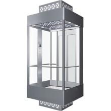 Smr Machine Room Panoramic Passenger Elevator for Supermarket