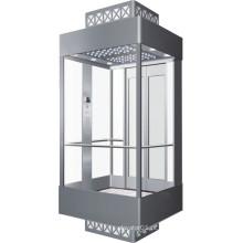 Sala de Máquinas Smr Elevador de Passageiros Panorâmico para Supermercado