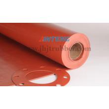 Feuille en caoutchouc rouge SBR, feuille de caoutchouc SBR 80shorea