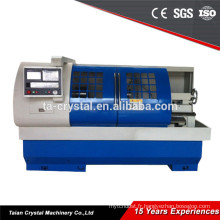 Tour horizontal économique de cnc de lit de flate à vendre CK6150A / 1250mm