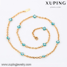 43077- Sexy Necklace Xuping Jewelry Blue Evil Eye Necklace For Women
