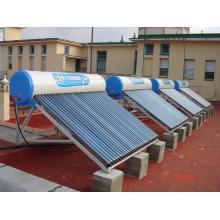 Cálculos de colector solar de tubos evacuados.
