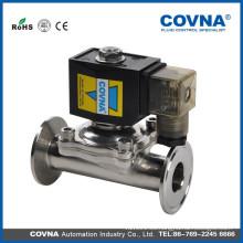 Válvula de grado alimentario, medios de comunicación: agua, alcohol, aceite, líquido, válvula de vapor, válvula de China fabricante