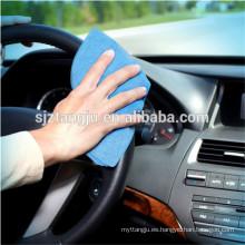 Limpieza de coches Vidrio Limpieza PU paño de gamuza de microfibra
