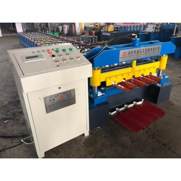Heb metal profile bumbung panel roll membentuk mesin