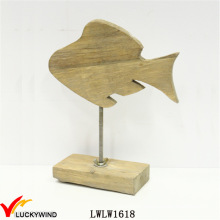 Wooden Chic Fish for Home Decor