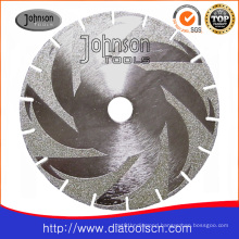Electroplated Circular Saw Blade with Flange