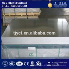 Placa de liga de alumínio 6061 6063