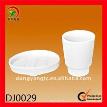 2 Stück Keramik-Badezimmer-Set