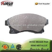 D1522 Hochleistungs-Halbmetall-Bremsbelag