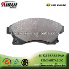 D1522 high performance semi-metallic brake pad